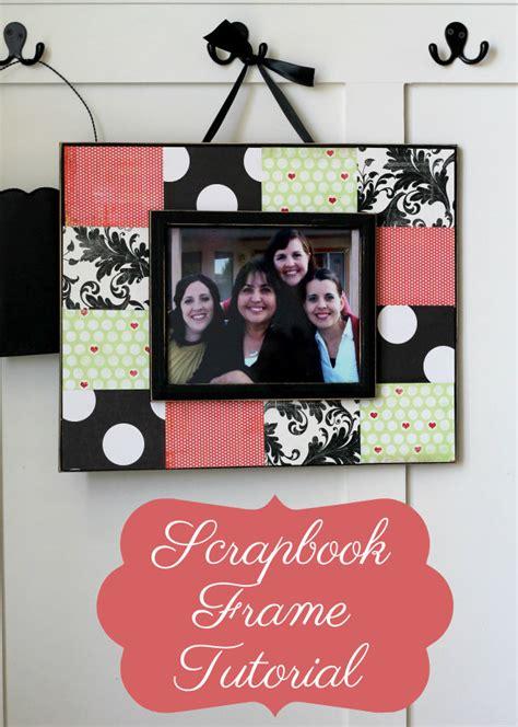 tutorial scrapbook frame scrapbook frame tutorial