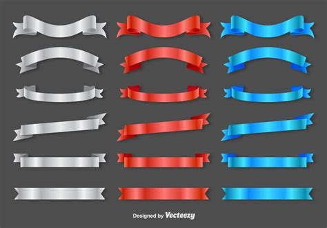 ribbon sashes vector   vector art stock