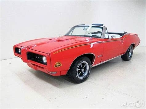 1968 gto tribute used manual