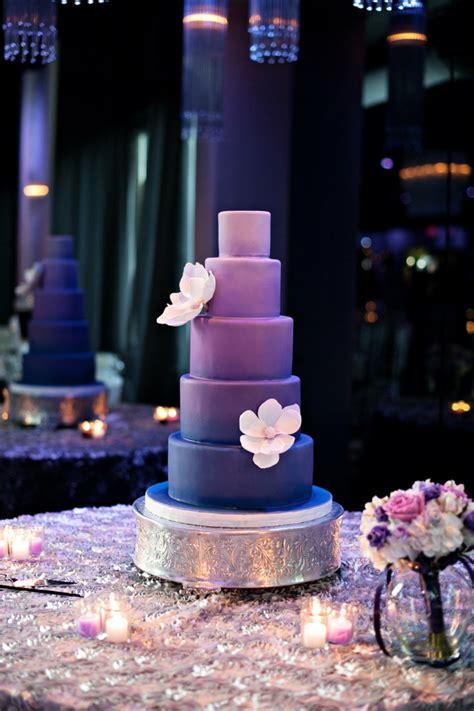 Hochzeitstorte Violett by Hochzeitsplanung Farbe Und Andere Trends Bei Den