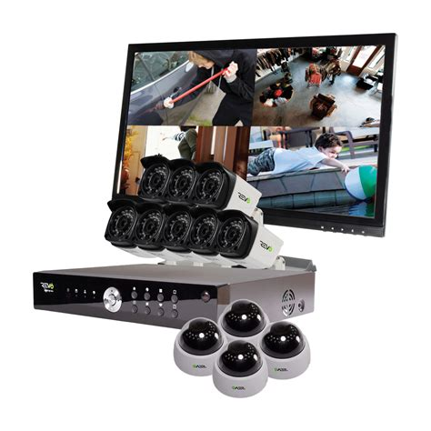 revo aero hd 1080p 16 ch security system with 12
