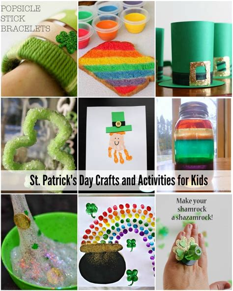 st patricks day kid crafts 17 best images about st s day on