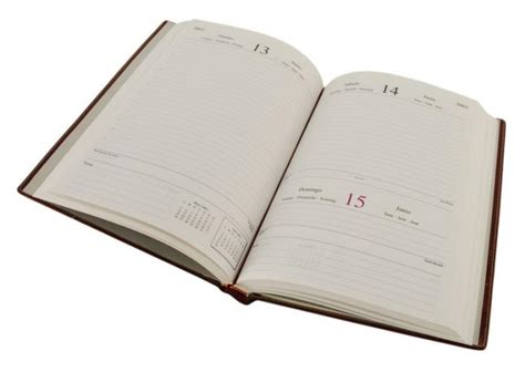 libro agenda hidalgo pereira agenda tipo libro oficina
