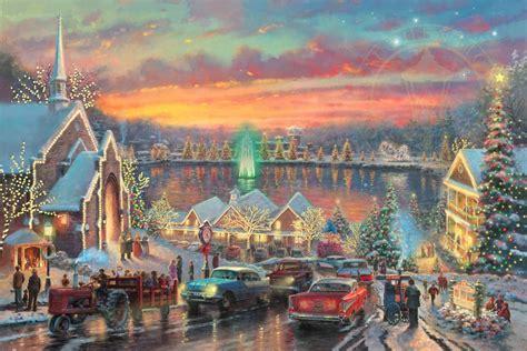 mcadenville nc christmas lights 2017 the lights of christmastown the thomas kinkade company