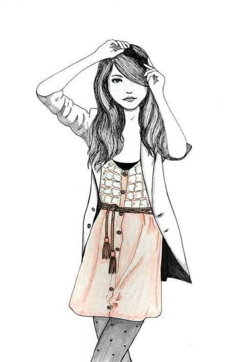 fashion illustration hair 78 best images about illustration on la