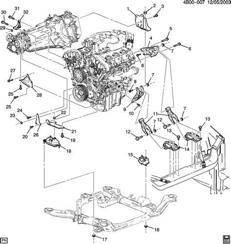 cadillac engine diagram cadillac 4 6 engine diagram transmission 2006 cadillac