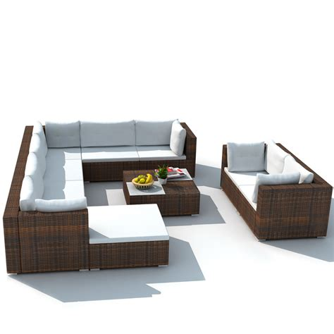 brown rattan sofa set convenience boutique outdoor furniture set garden sofa set
