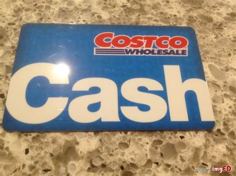 costco cash gift card 0 05 balance image on imged - Costco Gift Cards Balance