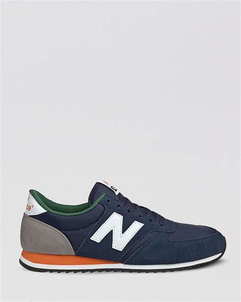 new balance classic sneakers new balance classic u420 sneakers in blue for lyst