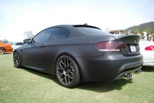 bmw 335i in matte black