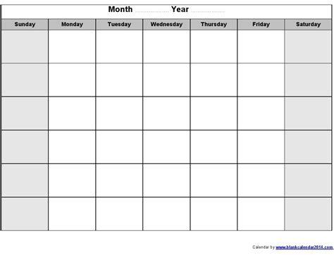 blank template calendar blank calendar print out free calendar 2017 2018