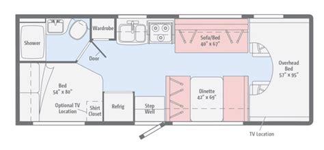 toterhome floor plans 1998 rexhall vision motorhome floor plans vision home
