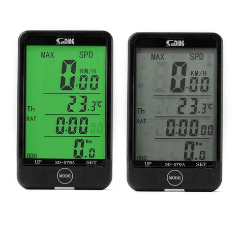 Speedometer Wireless bicycle bike cycling digital lcd speedometer odometer