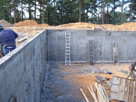 concrete basement walls raleigh concrete basement walls ocmulgee concrete services ocmulgee concrete services