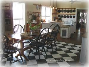 Farmhouse Floors by The Country Farm Home Farmhouse Style Kitchens With