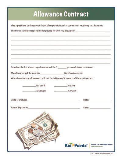allowance contract kid pointz