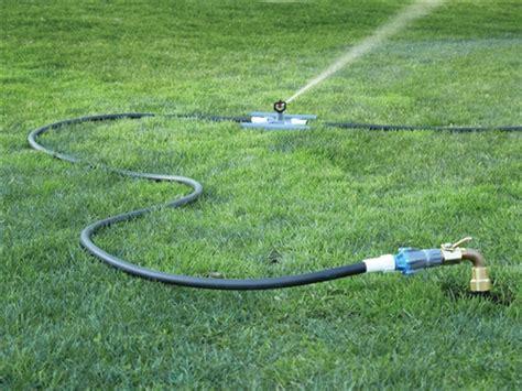 underhill spotshot  volume portable sprinkler