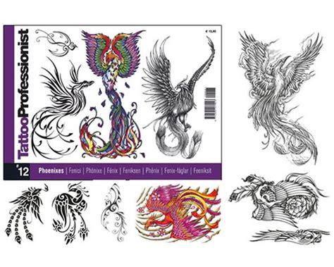 tattoo flash books canada pro phoenixes flash book 12 professionist flash books