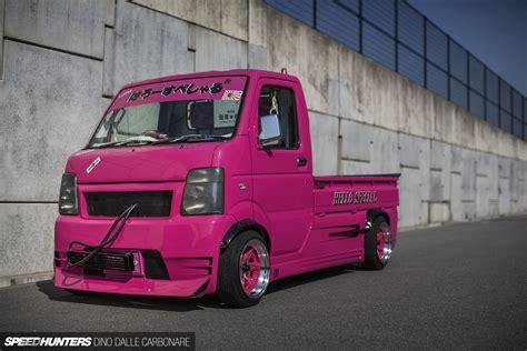 kei truck hello special suzuki carry kei drift truck pickup race