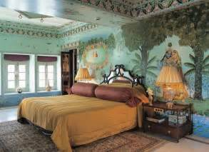 Wall Bed Designs In India Bedroom Traditional Indian Palace Luxury Mural Wallpaper