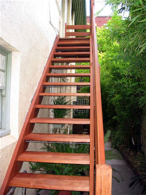 Contemporary Handrail External Staircase Outdoor Staircase Eric Jones