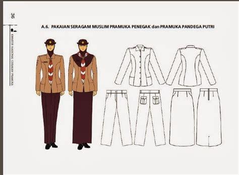 Baju Pramuka Penegak pakaian seragam harian pramuka penegak dan pandega putri