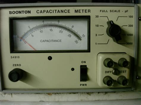 capacitance meter boonton other test equipment