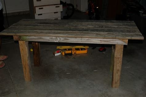remodelaholic how to build a rustic outdoor dining table