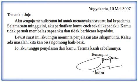 contoh surat pribadi bahasa inggris surat personal temukan pengertian pengertian surat pribadi