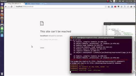 Node Email Templates Node Express Sending Email With Nodemailer Templates And Variables Youtube