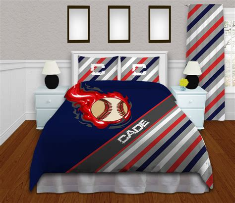 baseball bedding baseball bedding for boys baseball themed by
