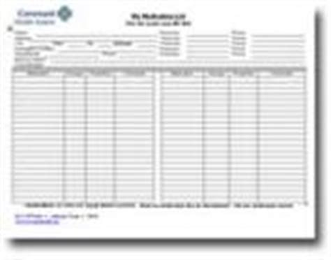 blank medication list templates blank medication list template search results calendar