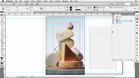How To Work With Templates In Indesign Lynda Com Tutorial Youtube How To Create A Template In Indesign