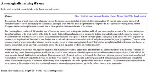 javascript layout resize js tutorial iframe resizer automagically resizing iframe