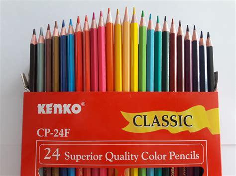 Jual Pensil Warna Curah by Harga Spesifikasi Kenko Pensil Warna 24 Warna Terbaru