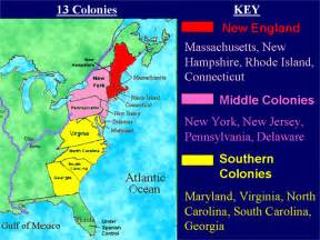 13 Colonies Sections by Thirteen Colonies It All