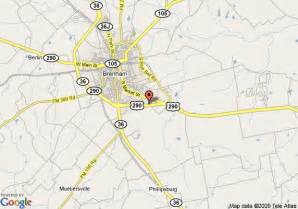 map of best western inn of brenham brenham