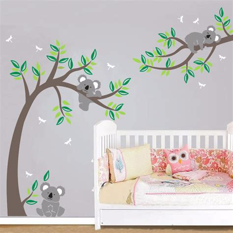 Wall Sticker Pohon Hijau 3d pohon dinding decal promotion shop for promotional pohon
