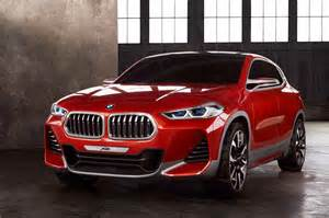 Bmw X2 Bmw X2 Concept Revealed At Motor Show Gaadiwaadi
