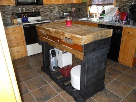 how to make pallet kitchen island pallet kitchen island pallets designs