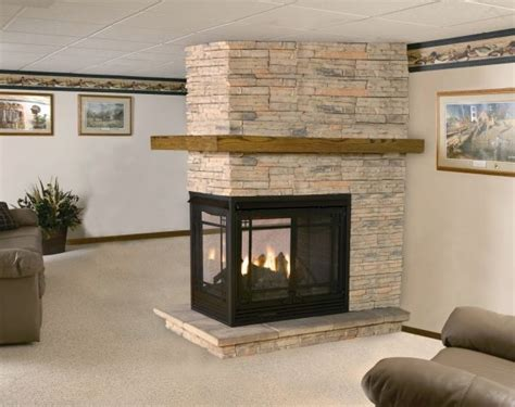 33 best images about 3 sided fireplaces on