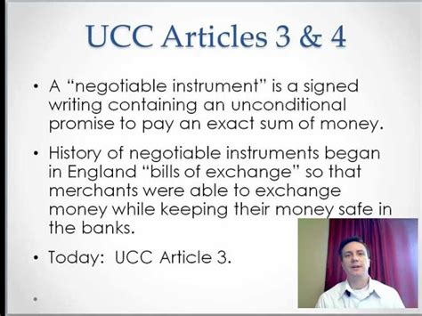 mastering negotiable instruments ucc articles 3 and 4 and other payment systems books self governance