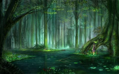 Enchanted Forest wallpaper   1920x1200   #51375