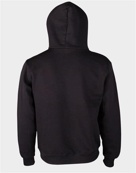 Jaket Zipper Hoodie Sweater Sunday Hitam 12 black hoodie fashion ql