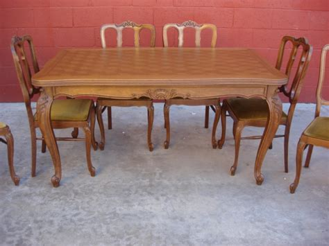 antique french dining table set collections