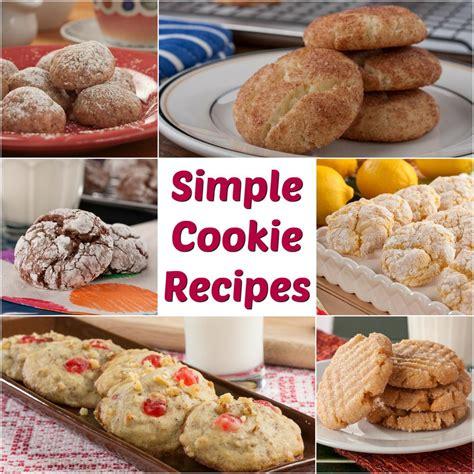 16 simple cookie recipes mrfood com