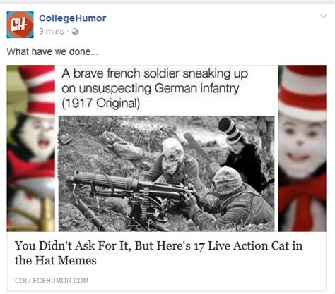 Cat In The Hat Meme - cat in the hat memes have hit college humor sell sell