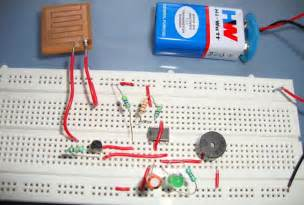 rain alarm project and circuit diagram using 555 timer ic