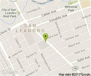 map of san leandro california baskin robbins in san leandro ca 100 pelton center way
