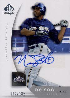 nelson cruz rookie cards checklist and guide